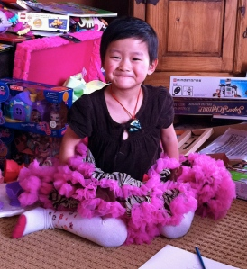 """Niece Mia """"JingJing"""" Christmas Day 2010"""