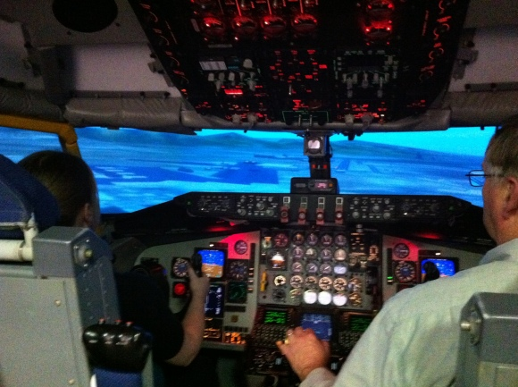 KC-135 Flight Simulator