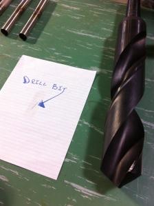 Drill bit sizes