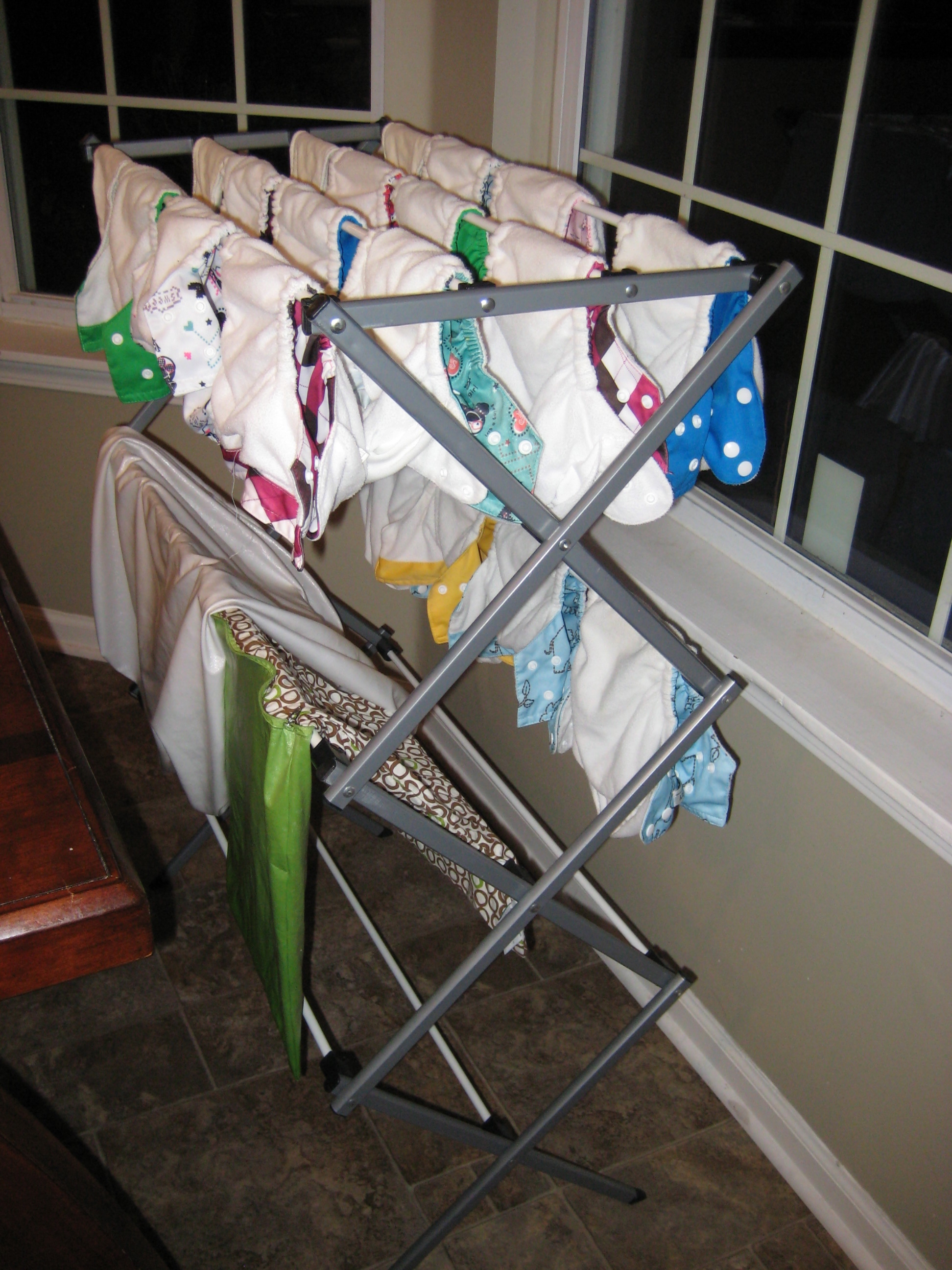 Image result for cloth diaper rack