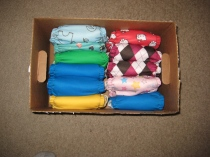 Cloth Diapers Storage Box